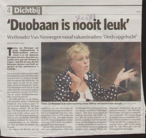 duobaan of parttime baan ??