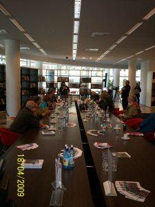 Paneldiscussie in de Bibliotheek