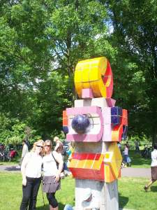 Kunstwerken in het Zuiderpark