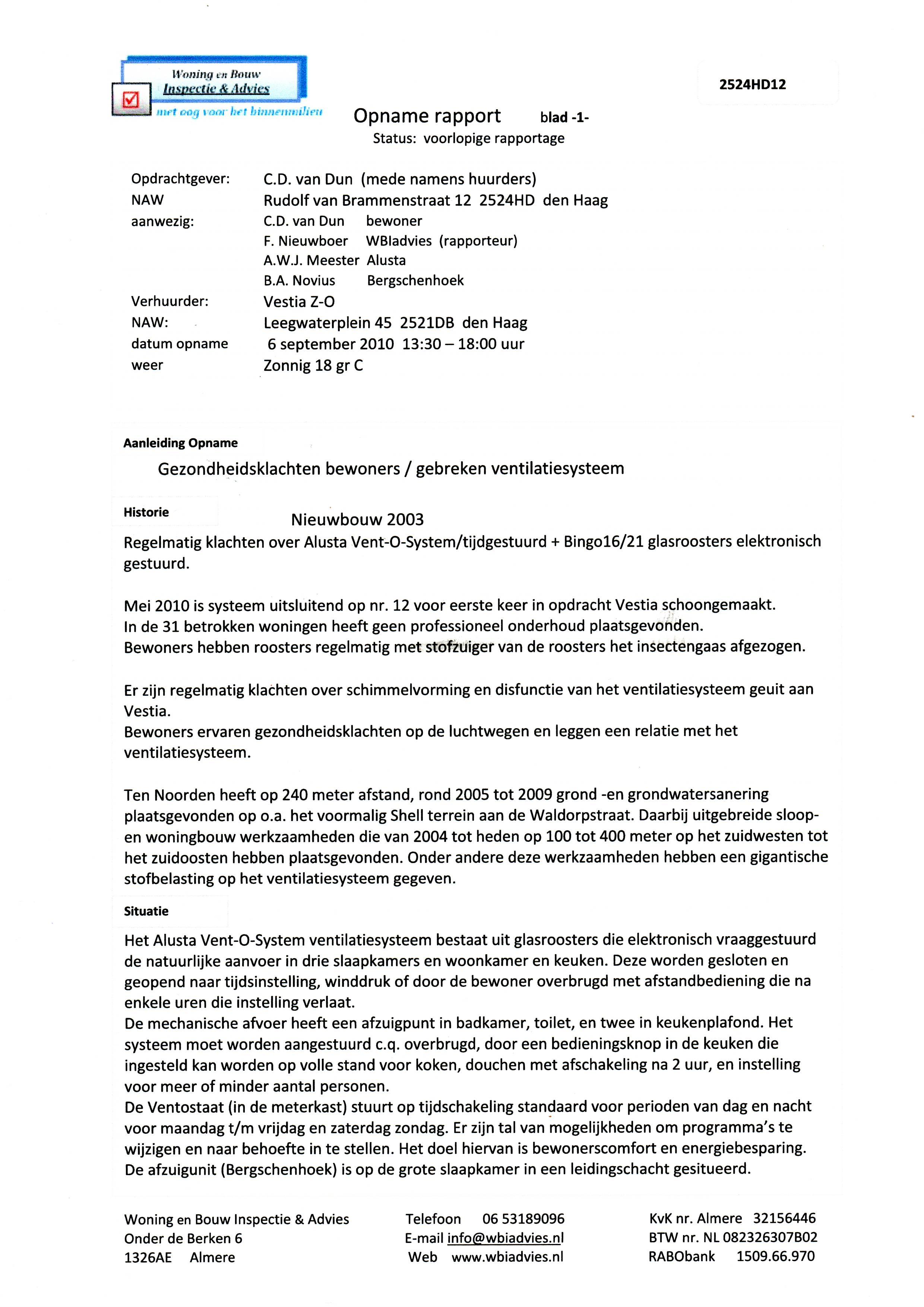 voorbeeldbrief klacht woningbouw warmtepomp | Jan de Wandelaar in het Den Haag van Morgen voorbeeldbrief klacht woningbouw