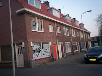 Te slopen blok Beetsstraat thv van de plek waar de FRAM stond.