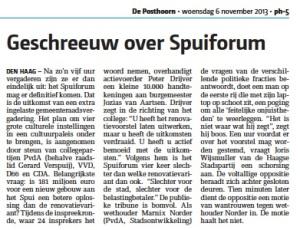 Posthoorn 06.11.2013 2